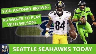Seattle Seahawks Rumors: Sign Antonio Brown? Brown Wants To Play With Russell Wilson?