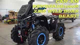 Video Can-am Renegade 1000R XMR Wild Boar Beast! download MP3, 3GP, MP4, WEBM, AVI, FLV Januari 2018