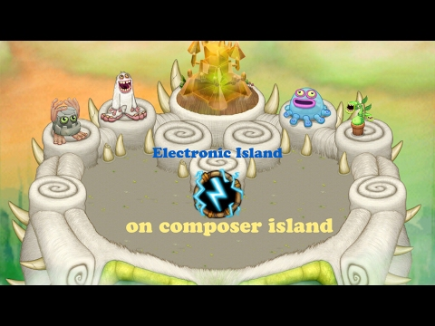 Electronic Island MSM Composer Island Remake #1 - Read Description For More