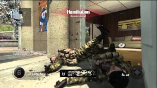 Kid Cries and Rages in Knife only Gun Game (Epic Reactions)