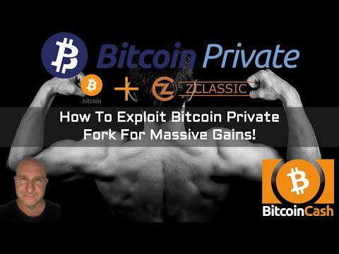 How To Exploit Bitcoin Private Fork For Massive Gains!