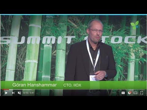 ECO17 Stockholm: Göran Hanshammar IIOX