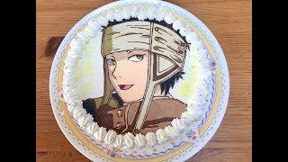 キャラケーキの作り方 今回は赤髪の白雪姫 オビです リクエストありがとうございました!!
