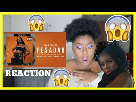 IZA - PESADÃO MUSIC VIDEO REACTION (Reação) (Participação especial Marcelo Falcão)