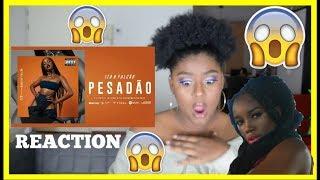 IZA PESADÃO MUSIC VIDEO REACTION Reação Participa