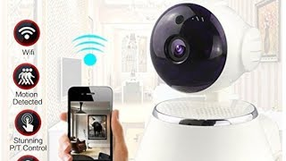 App Installation, Connecting and Detailed Review Baby Monitor Ounice Wireless 720P  IP Camera
