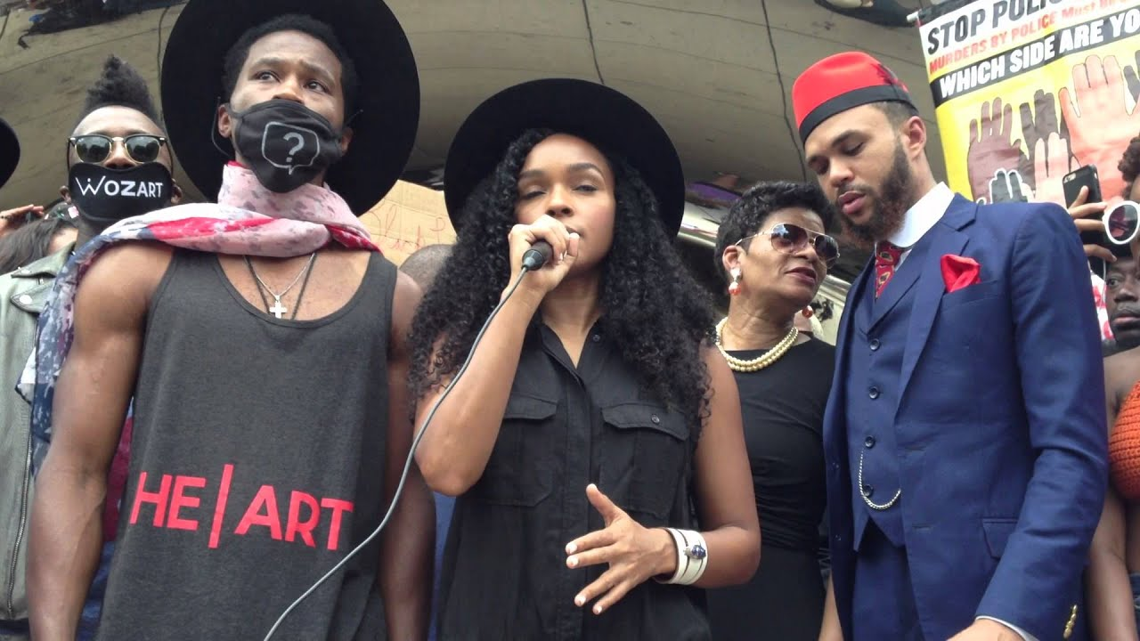 Janelle Monae brings her #BlackLivesMatter activism to Chicago
