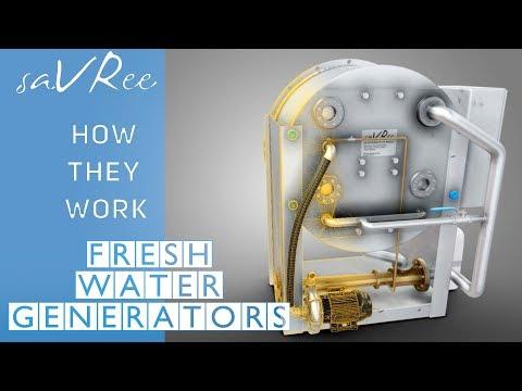 How Fresh Water Generators Work (saltwater desalination)