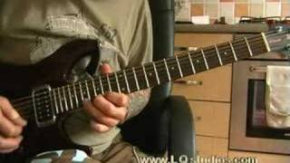 Iron Maiden Guitar Lesson Powerslave Solo 1 and 2