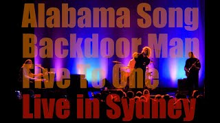 The Doors Alive - Alabama Song / Backdoor Man / Five To One