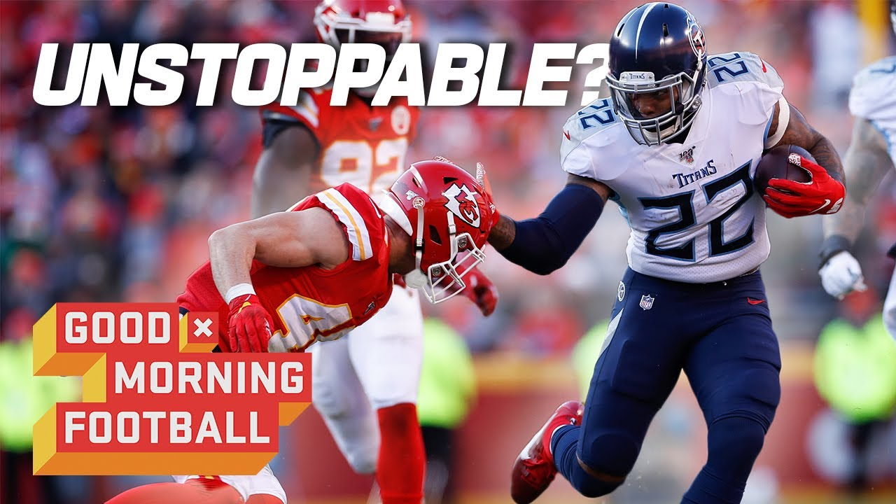 Can the Chiefs Stop Derrick Henry in Week 7? | Good Morning Football