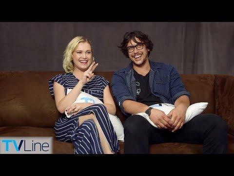 Eliza Taylor & Bob Morley On 'The 100' Relationship, Season 5 Finale  ComicCon 2018  TVLine