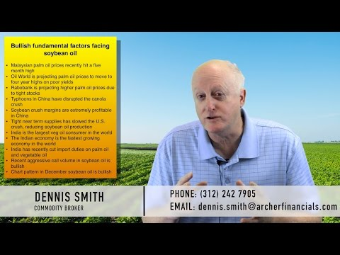 SOYBEAN OIL FUTURES: September 28, 2016 w/ Dennis Smith