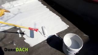DuroDACH - aplikacja na dachu z papy