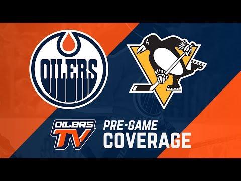 ARCHIVE | Oilers Pre-Game Interviews vs. Penguins