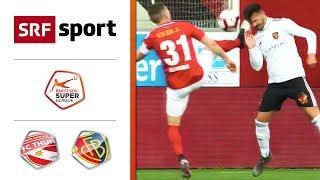 FC Thun - FC Basel 1:2 | Highlights - Super League 2018/19 - Runde 35