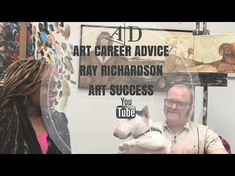 Art Career Advice from Ray Richardson: Adelaide Damoah Art Discussion