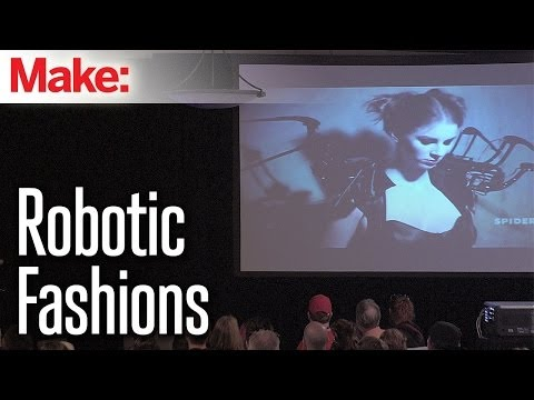 Robotic Fashion and Intimate Interfaces - Anouk Wipprecht