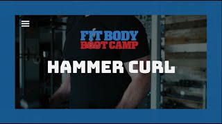 The Simple Way To Perform A Hammer Curl - Trainer Tips