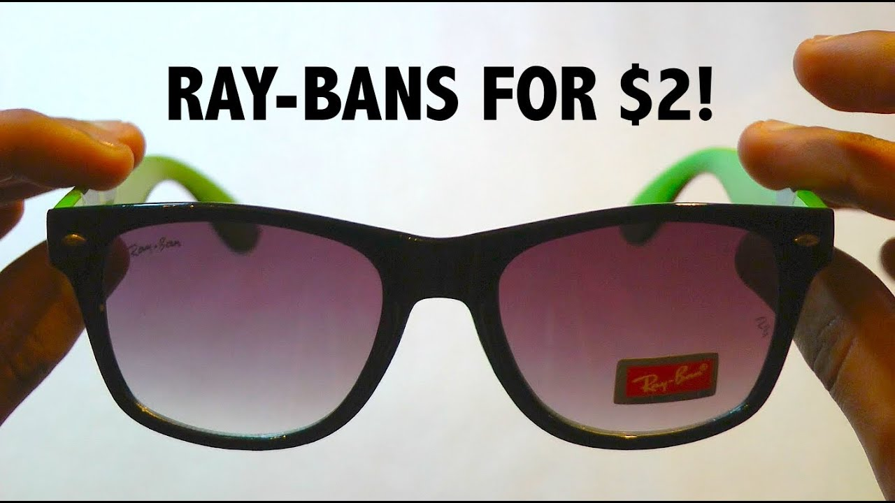 5f2c81805a2 The Best Ray-Ban Sunglasses for  2! - YouTube