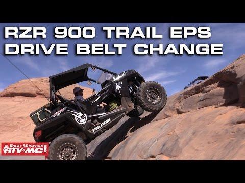 Polaris RZR 900 Trail EPS Belt Change