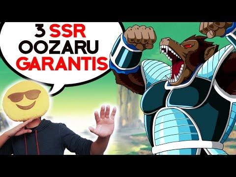 DBZ DOKKAN BATTLE - 3 SSR OOZARU GARANTIS !!!