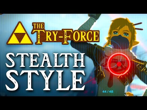 The Try Force: Breath Of The Wild Stealth Style