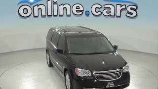 oA97146NC 2015 Chrysler Town & Country Mini Passanger Van Black Test Drive, Review, For Sale