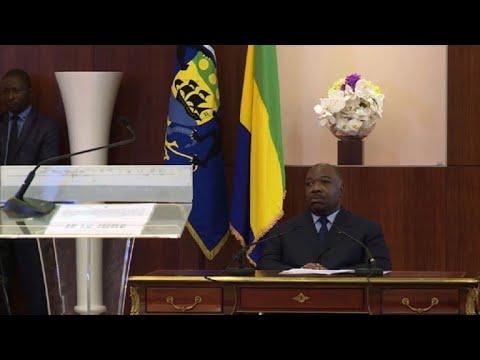 Gabon: le gouvernement prête serment devant Ali Bongo