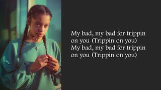 Trip Ella Mai Lyrics Video