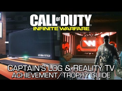 Call of Duty Infinite Warfare - Captain's Log & Reality TV Achievement/Trophy Guide (Secret)