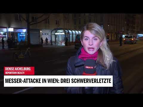 Messer-Attacke in Wien: Drei Schwerverletzte