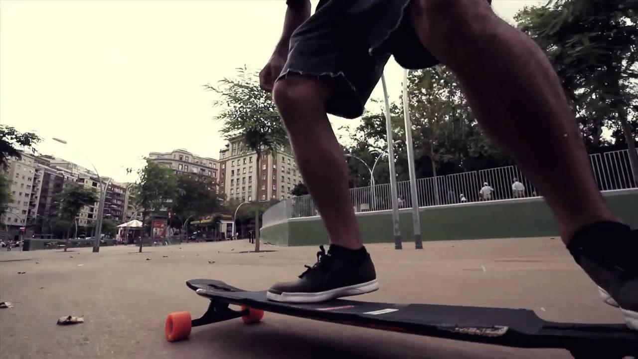 barcelona longboarding pt 1
