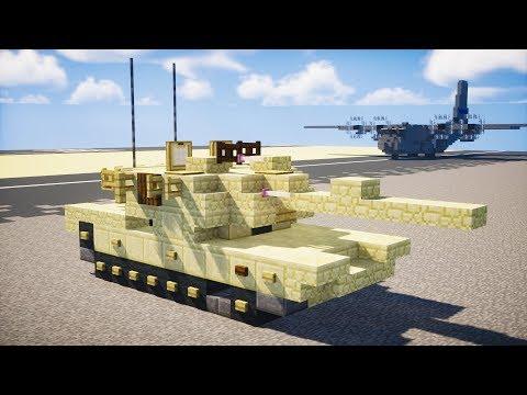 Minecraft M1A2 Abrams Tank (v4.0) Tutorial