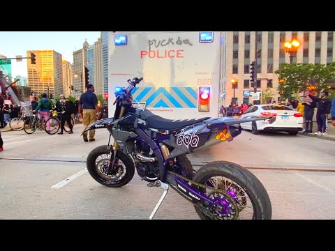 Riding Into Chicago's Riots