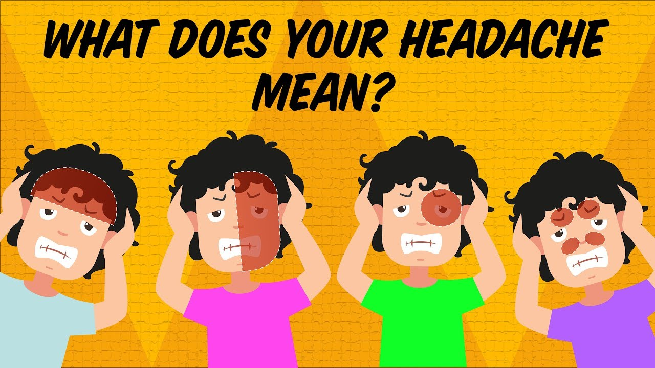 What your headache is trying to tell you What your headache is trying to tell you new pictures