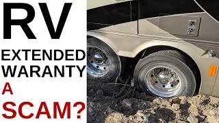 RV EXTENDED WARANTY, A SCAM?