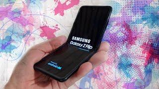 купил Samsung Galaxy Z Flip за 120 000 рублей / РАСПАКОВКА / БЫСТРЫЙ ОБЗОР Самсунг Галакси З Флип