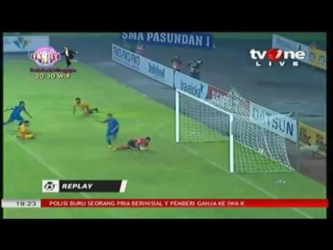 Gol Persib bandung vs Sriwijaya FC (2-0) liga 1 gojek traveloka 29 april 2017