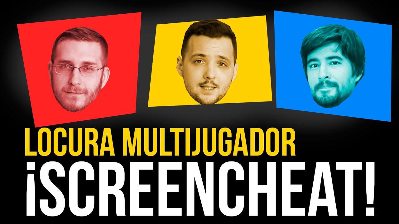 SCREENCHEAT: ¡LOCURA multijugador! - Xavi, Pep y Jose