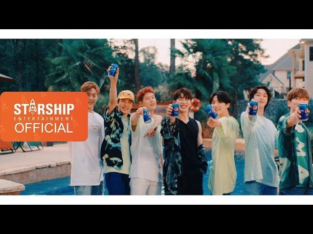[MV] Monsta X – Pepsi For The Love Of It (Korean Version)