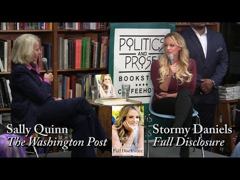 "Stormy Daniels, ""Full Disclosure"" (w/ Sally Quinn)из YouTube · Длительность: 20 мин11 с"