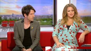 Kimberley Walsh & Alistair Griffin - BBC Breakfast - 30th June 2014 YouTube Videos