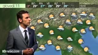 Meteo: le previsioni per oggi