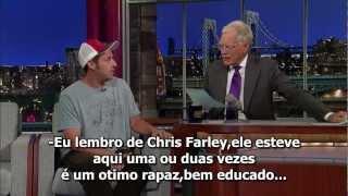 Adam Sandler no David Letterman[Legendado](HQ)