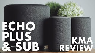 A Week With The New Amazon Echo Plus & Echo Sub || Is This Smart Speaker Upgrade Worth It?