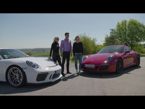 Quick laps with Mark Webber: Tracy Austin and Samantha Stosur on the Porsche test track