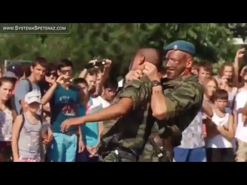 Hand to Hand Combat - Russian Spetsnaz Airborne Troops - Spetsnaz VDV