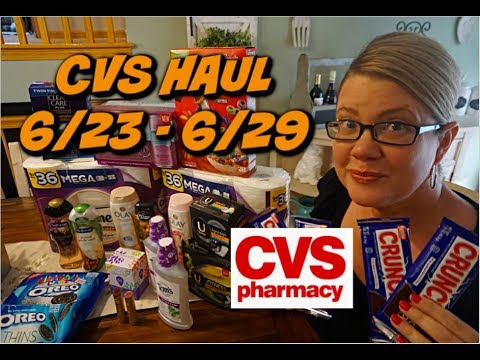 CVS HAUL (6/23 – 6/29) | CHEAP CANDY, PAPER PRODUCTS, BODYWASH & MORE!