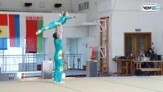 Открытые республиканские соревнования Кубок космонавтики по спортивной акробатике в Витебске